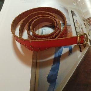Gap Leather Belt Size Large